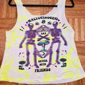Hallucinogens Are Better With Friends Tank